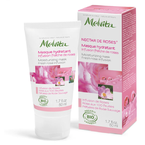 Melvita Rose Nectar Moisture Mask (50ml)