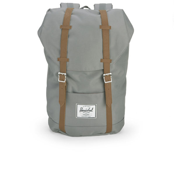 35dd7048a43 Herschel Supply Co Retreat Backpack Grey Free Uk Delivery Over 50
