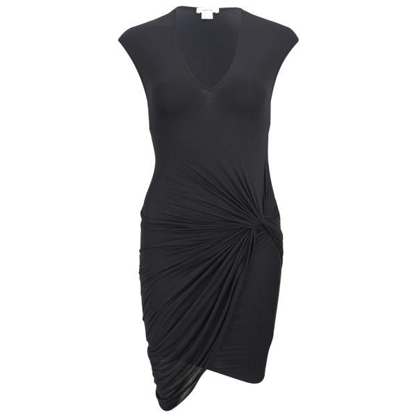 Helmut Lang Women's V Twist Dress - Black