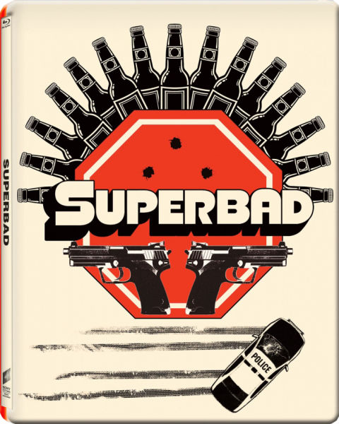 Superbad - Gallery 1988 Range - Zavvi Exclusive Limited Edition Steelbook (slechts 2000 exemplaren)