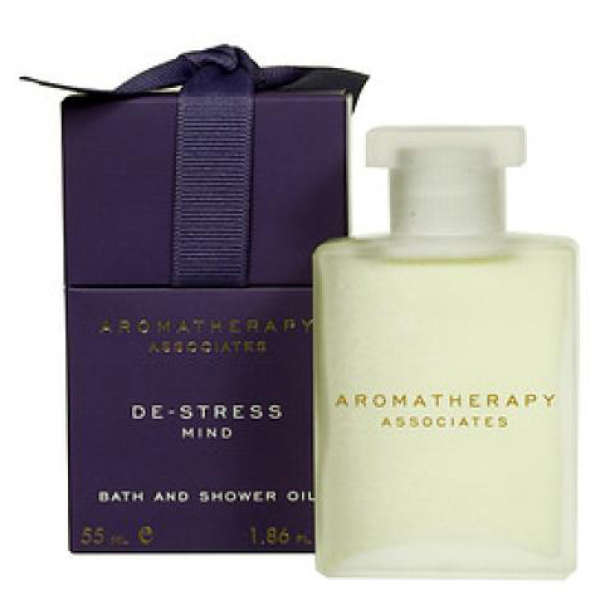 Aromatherapy Associates De-Stress Mind Bath & Shower Oil 55ml