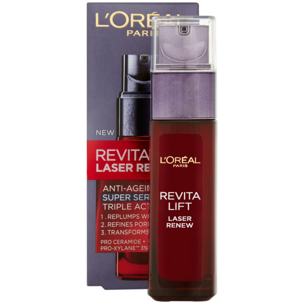 L'Oreal Paris Dermo Expertise Revitalift Laser Renew Anti-Aging Triple Action Super Serum (30ml)