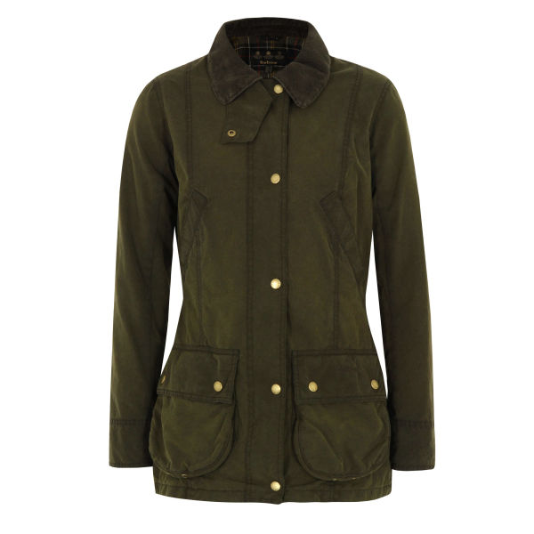 Barbour Women's Olive Vintage Beadnell Jacket - Green