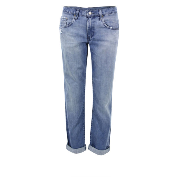 Nobody Women's Beau Cropped Jeans - Echoes