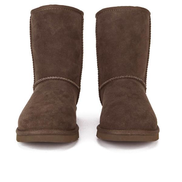 UGG Women's Classic Short Sheepskin Boots - Chocolate: Image 2