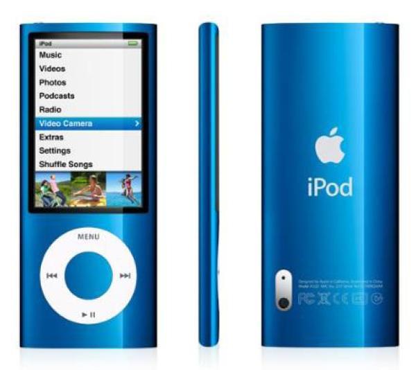 Ipod Nano 8gb Blue 5g Electronics Thehut Com