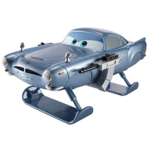 Cars 2 Spy Attack Finn Mcmissile: Cars 2: Oversized Die Cast Hydrofoil Finn Mcmissile