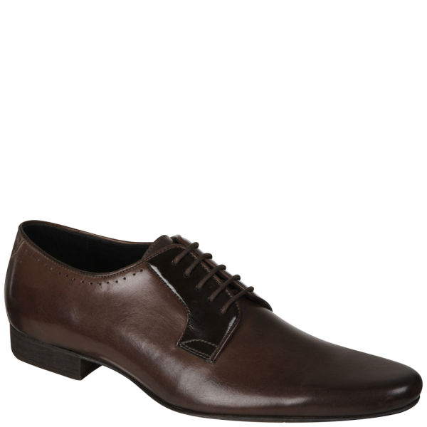 H Shoes by Hudson Men's Larkin Leather Shoes - Brown