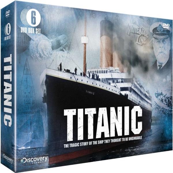 Titanic Gift Pack Dvd Zavvi Com