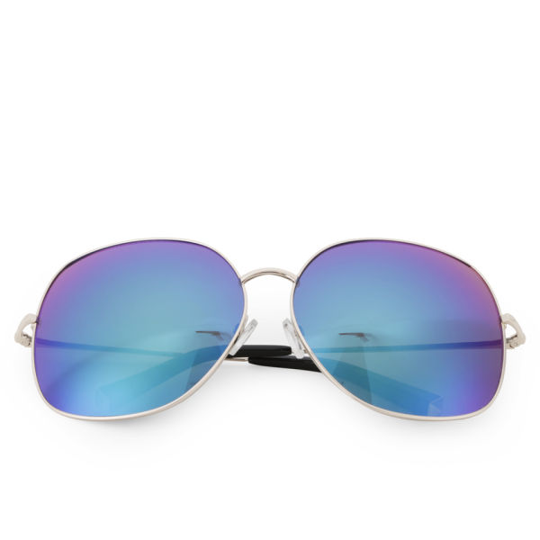 Matthew Williamson Oversized Revo Lens Sunglasses - Blue