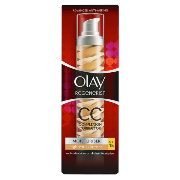 CC cream hidratante de Olay Regenerist SPF15 - Claro (50ml)