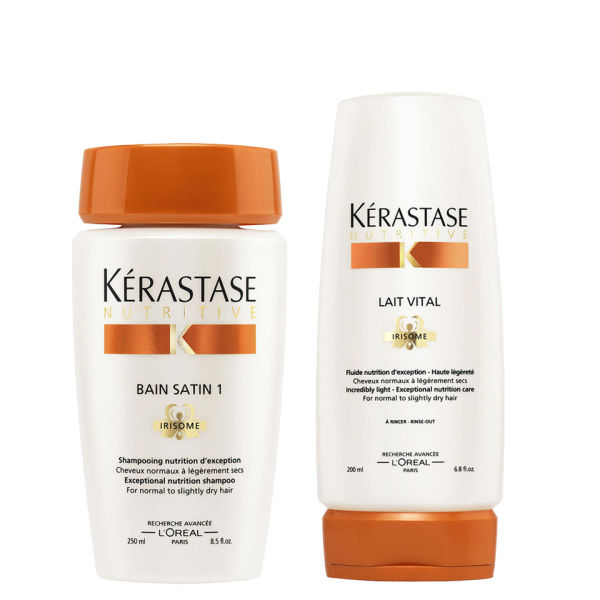 Kérastase Nourishing Shampoo and Conditioner for Normal to Slightly Dry Hair Duo