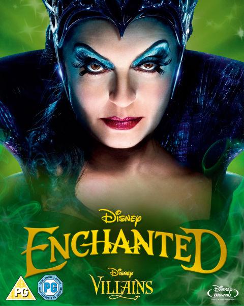 Enchanted Disney Villains Limited Artwork Edition Blu