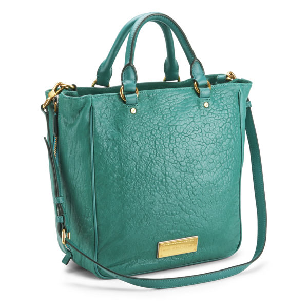 2f95b9275b5 Marc by Marc Jacobs Washed Up Leather Tote Bag - Island Green - Free ...