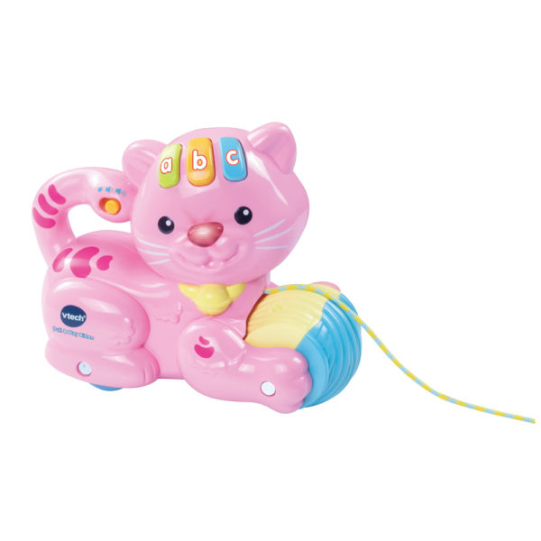 Vtech Pull and Play Kitten - Pink