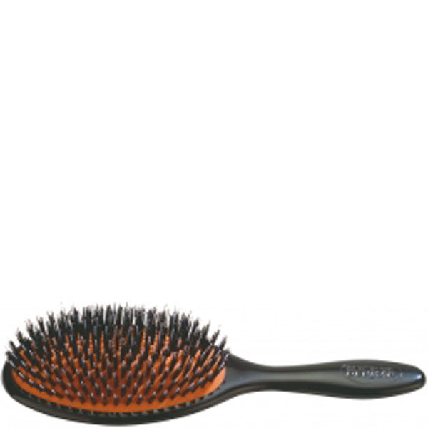 Denman Natural Bristle Cushion Brush - Large