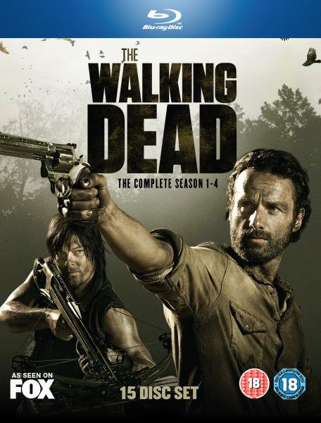 The Walking Dead - Season 1-4