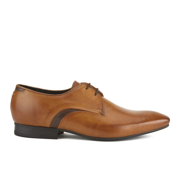 Hudson London Men's Dawlish Derby Shoes - Tan