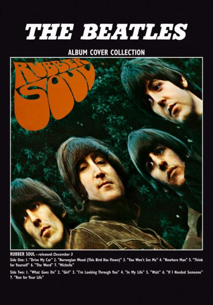 Rubber Soul Album Greeting Card Gifts Zavvi
