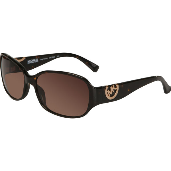 MICHAEL MICHAEL KORS Sag Harbor Oversized Oval Sunglasses - Tortoise
