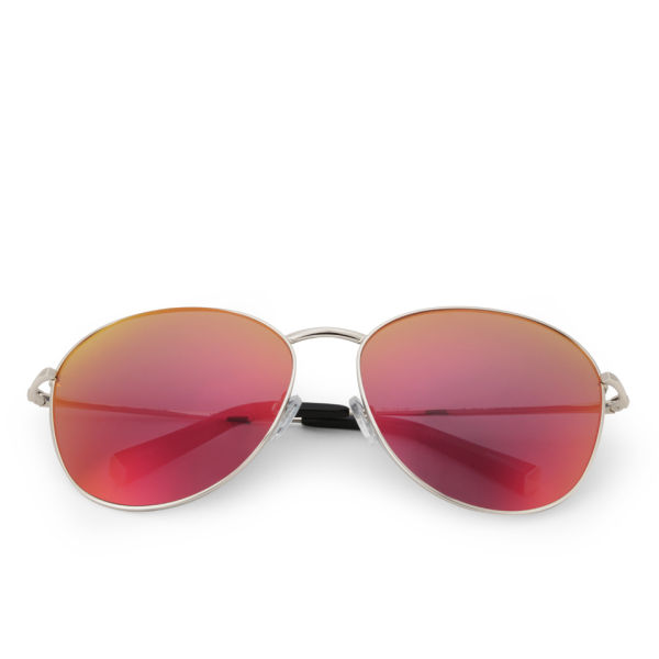 Matthew Williamson Revo Lens Aviator Sunglasses - Red