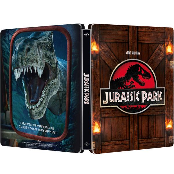 Jurassic Park Zavvi Exclusive Limited Edition Steelbook