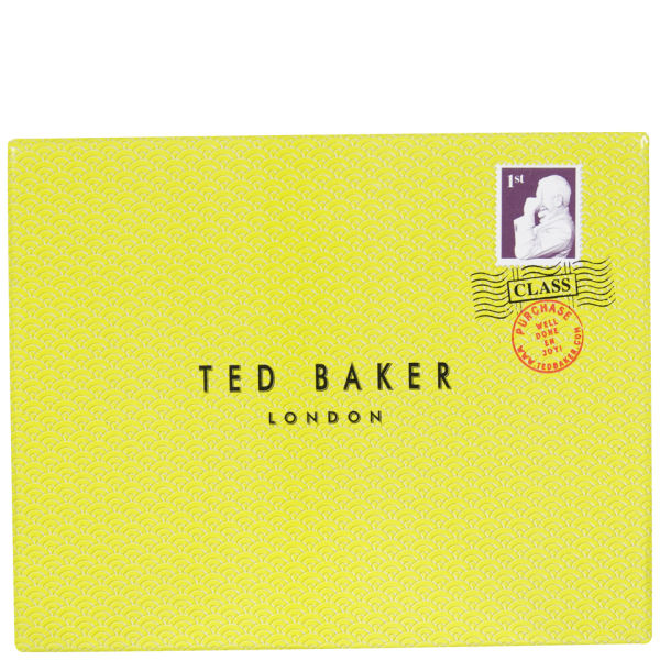 Ted Baker Brunwic Logo Wallet With Coin Pocket Chocolate