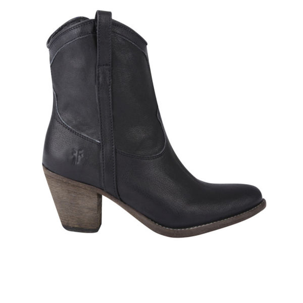 Frye Women's Taylor Short Ankle Leather Boots - Black