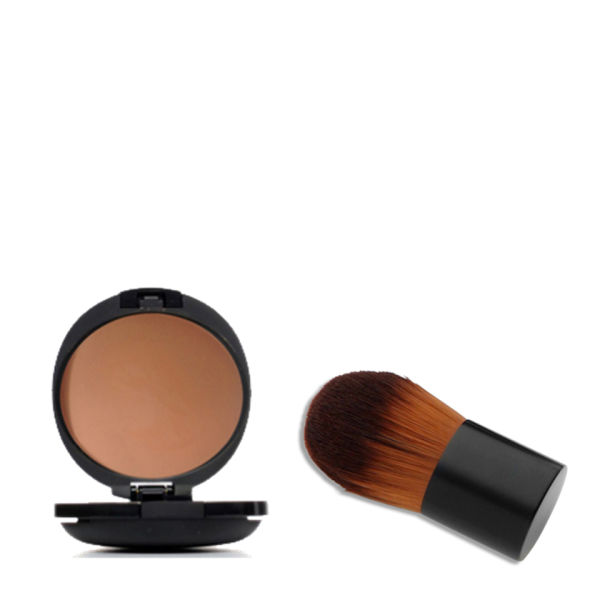 Menaji HDPV Anti-Shine Tan Set with Deluxe Kabuki brush