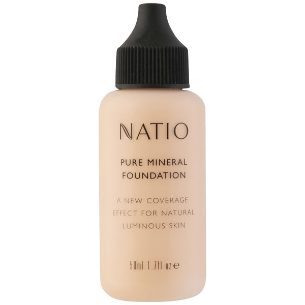 Natio Pure Mineral Foundation - Medium Tan (50ml)