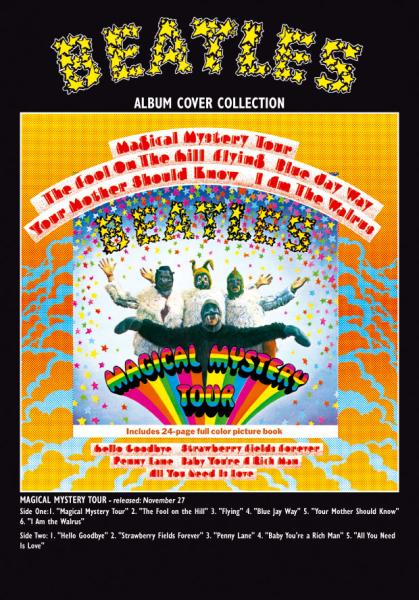 Magical Mystery Tour Album Greeting Card Gifts Zavvi