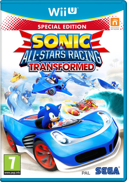 Sonic Amp All Stars Racing Transformed Limited Edition Wii