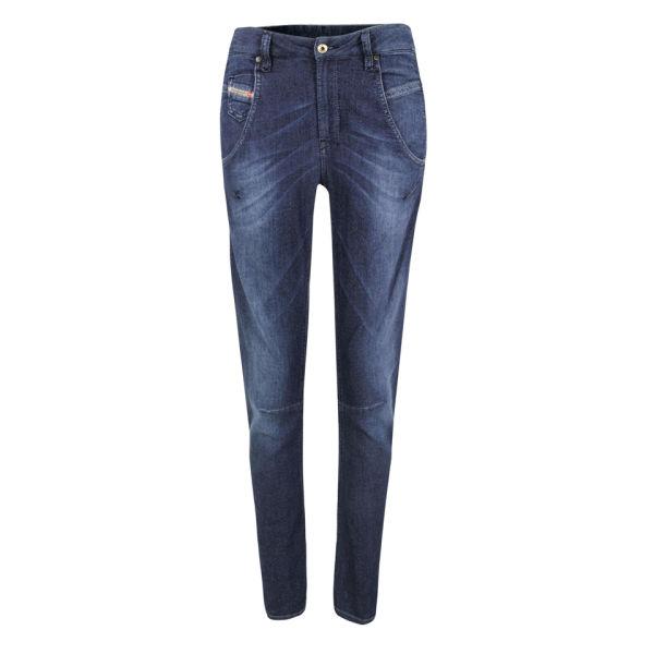 Diesel Women's Fayza Boyfriend Fit Jog Jeans - Dark 660N