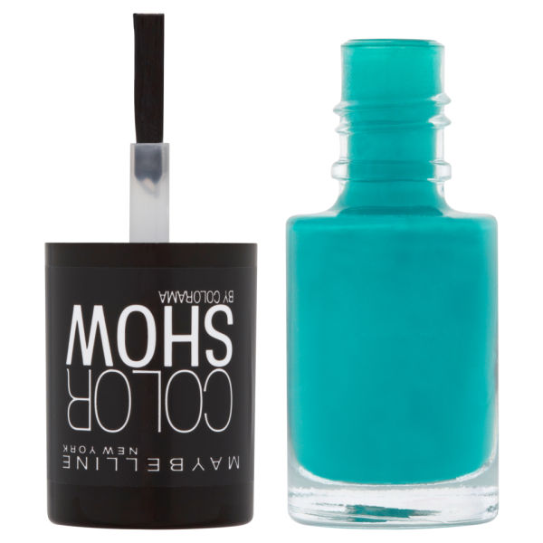 Maybelline New York Color Show Nail Lacquer 120 Urban Turquoise 7ml Image 2