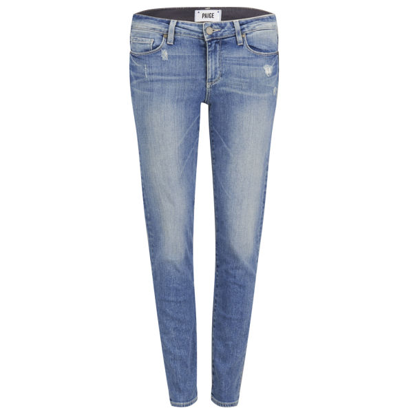 Paige Women's Mid Rise Skyline Ankle Peg Jeans - Whitley