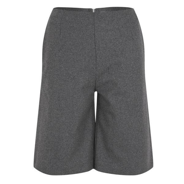 Wood Wood Women's Aretha Shorts - Grey Melange