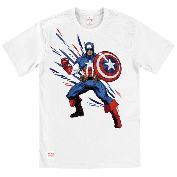 Design Shirt Of Captain America