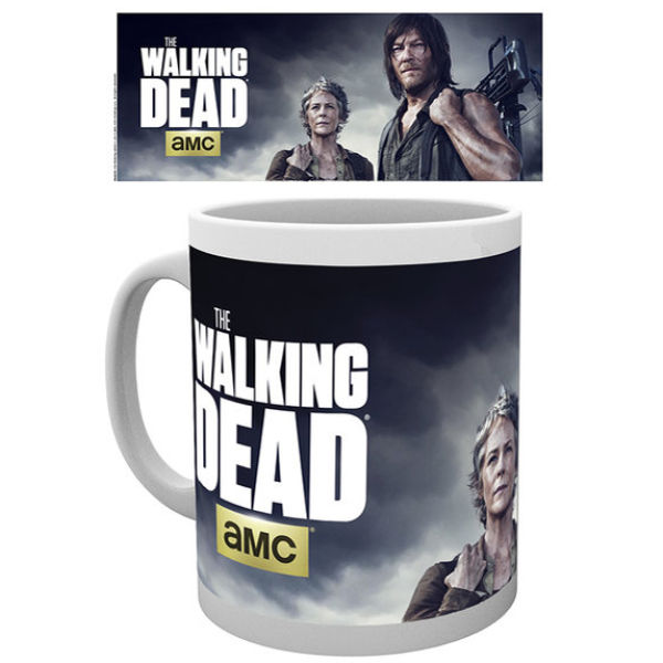 The Walking Dead Carol and Daryl Mug