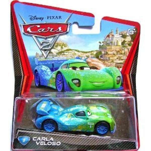 Cars 2 character pack carla veloso toys zavvi - Nom voitures cars 2 ...