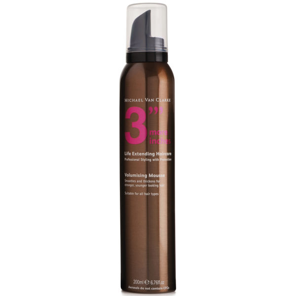 3 More Inches Volumising Mousse 200ml