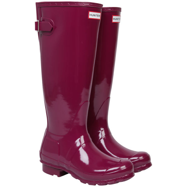 Hunter Women S Original Back Adjustable Gloss Wellington