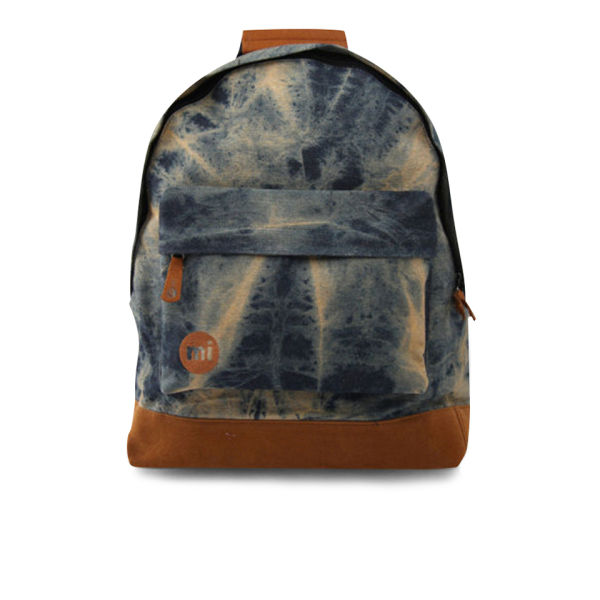 Mi-Pac Premium Denim Dye Backpack - Denim Dye Indigo