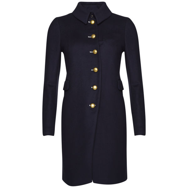 Marc by Marc Jacobs Women's Nicoletta Wool Coat - General Navy
