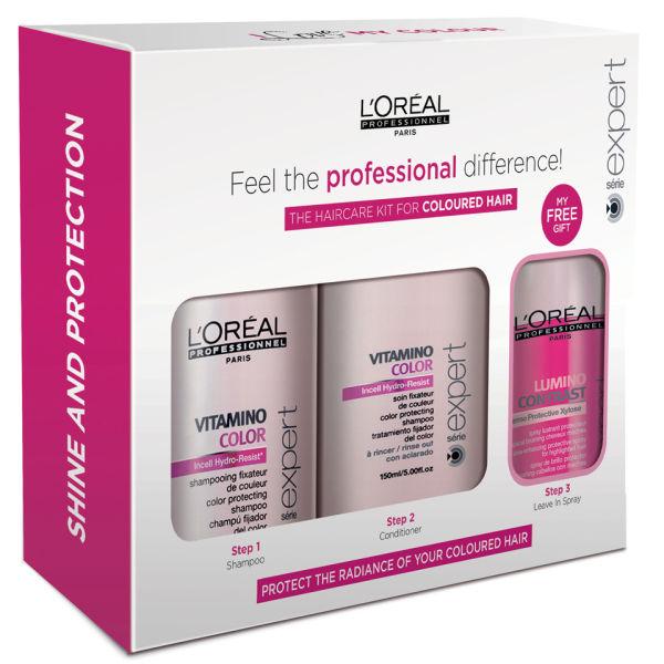 L Oreal Professionnel Serie Expert Vitamino Hair Care Kit