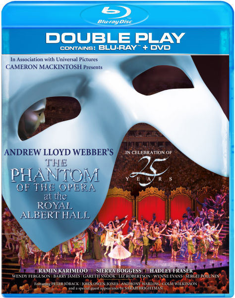 The Phantom of the Opera at The Royal Albert Hall - Double Play (Blu-Ray and DVD)