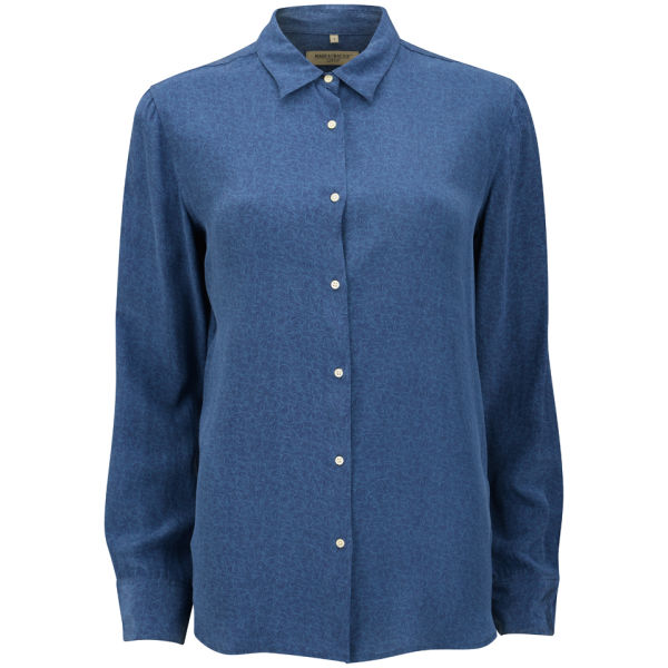 Levi 39 s made crafted women 39 s endless shirt blue free for Levis made and crafted shirt