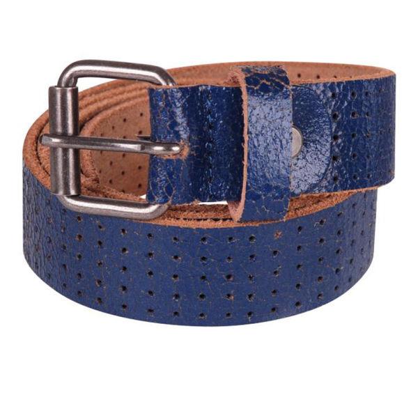 mustard maybank blue mens leather belt mens accessories