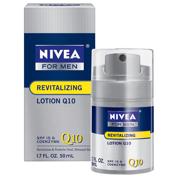 Nivea For Men Q10 Revitalising Moisturiser 50ml Free
