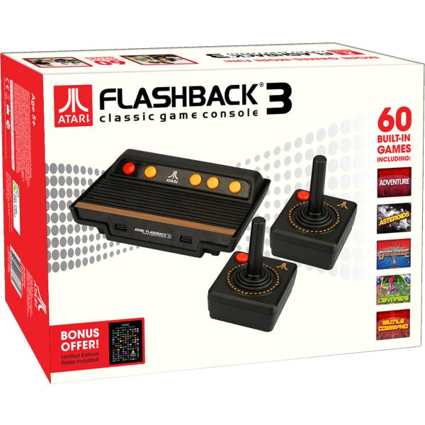 Atari flashback 3 console games - Atari flashback 3 classic game console ...