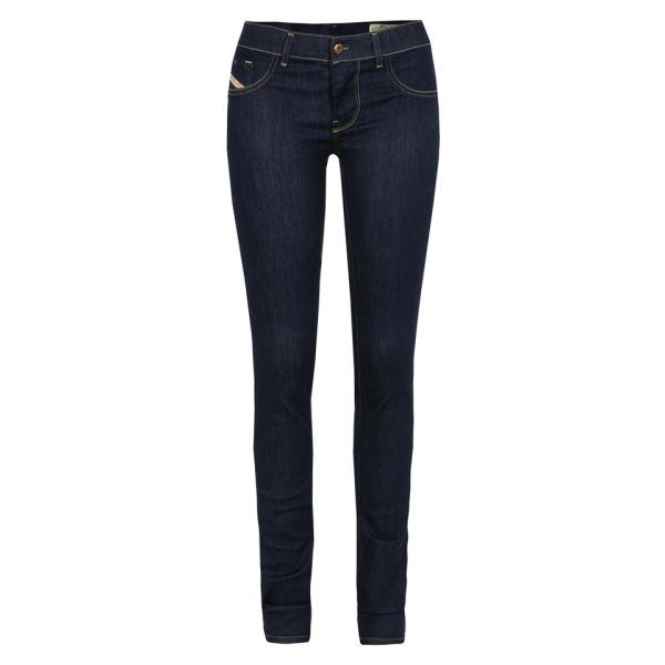 Diesel Women's Livier Denim 0801K Skinny Jeans - Indigo